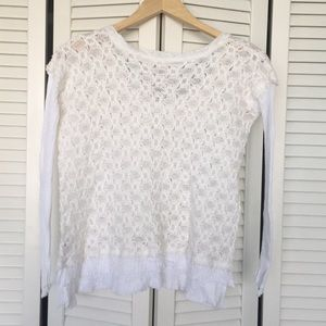 Free People Sweaters - Free People Windows to My Soul Pullover Sweater